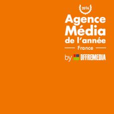Agence Média de l'Année 2016